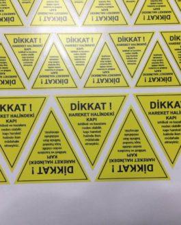 Baskes Sticker Etiket