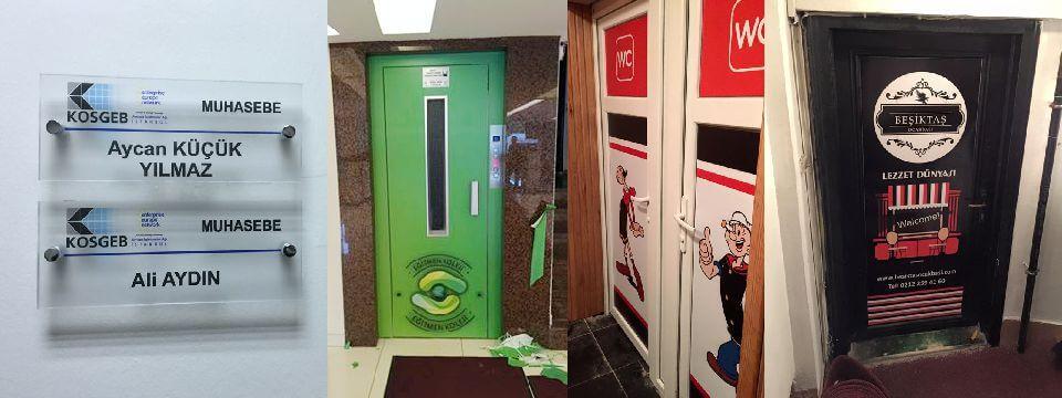 Asansör Kapı Giydirme