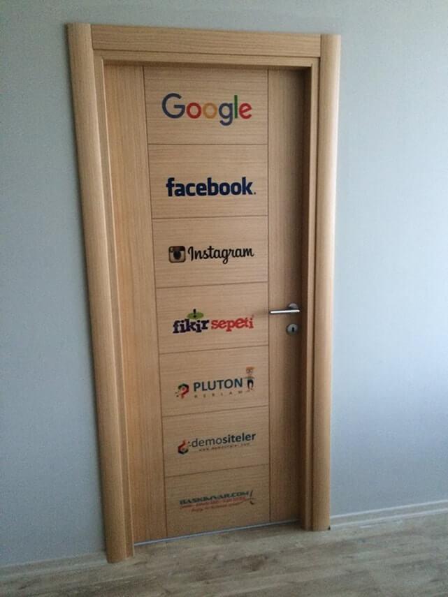 Kapı Giydirme Logo