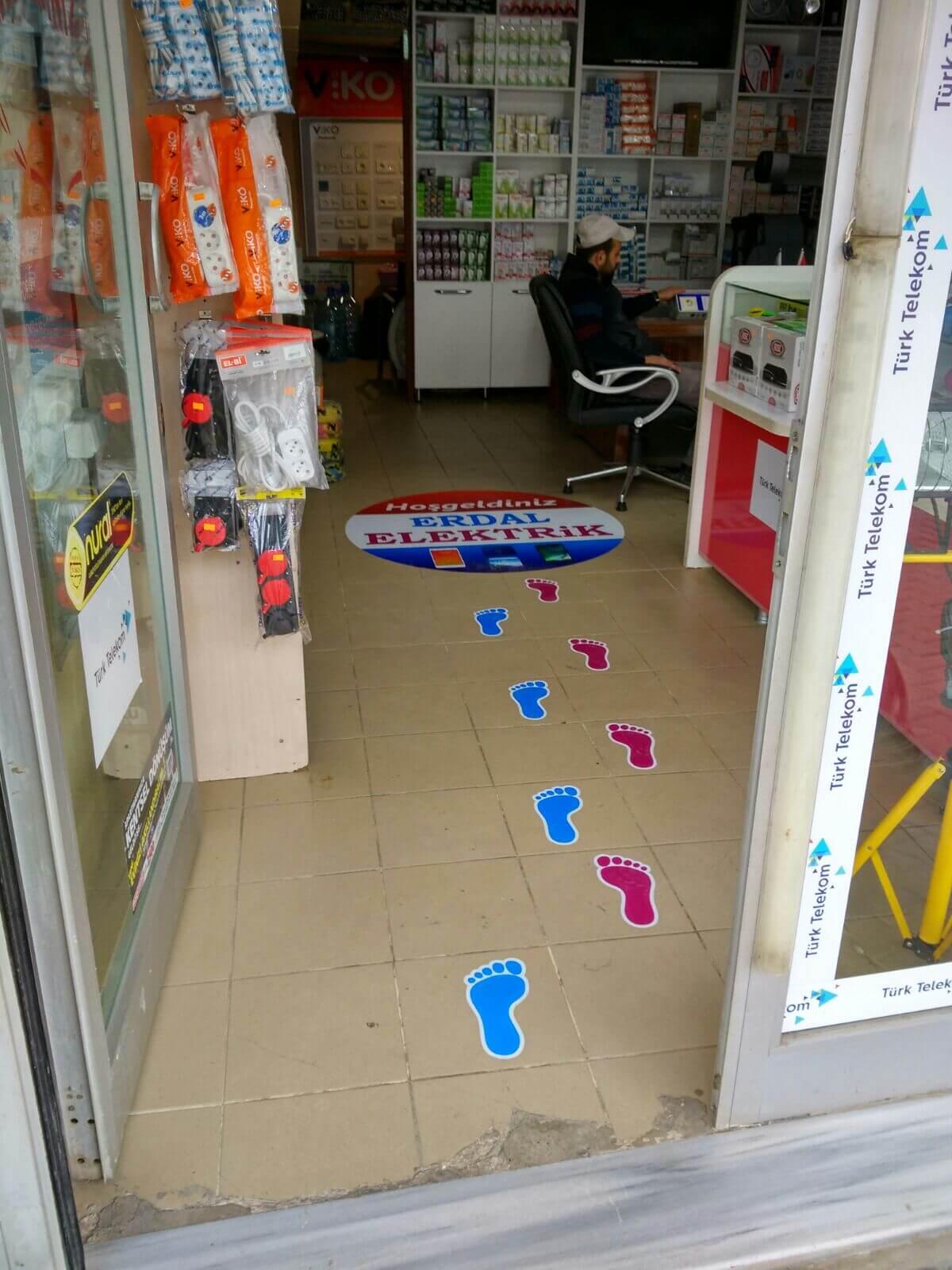 Floor Grafik Yer Uygulama