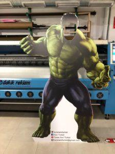 Hulk Cut Out Özel Kesim Maketi