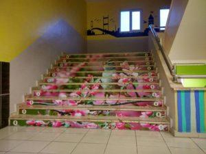 Okul Merdiven Kaplama