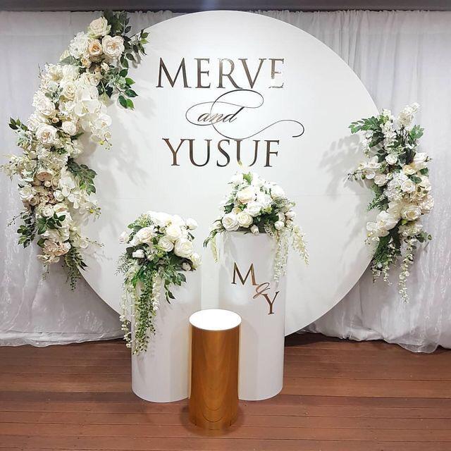 Düğün Pano Yuvarlak