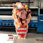 Bubble Waffle Cut Out