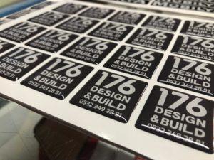 Design & Build Damla Etiket Baskı