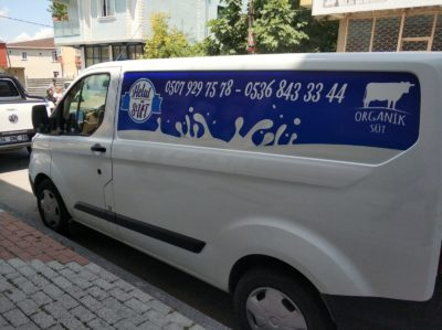 Helal süt araç kaplama