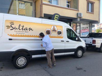 Sultan bal araç reklam