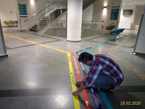 Floor Grafik Yönlendirme