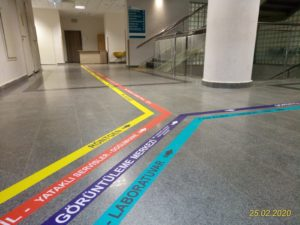 Floor grafik folyo