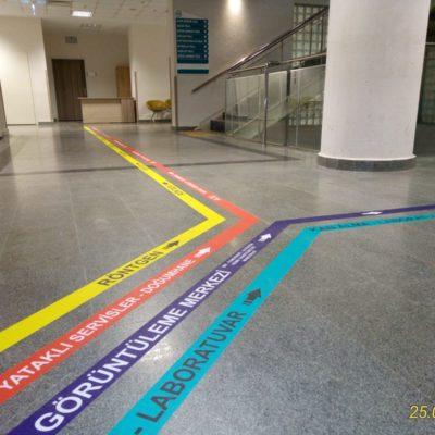Floor Grafik Folyo Baskı