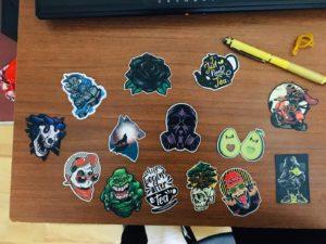 Opak Etiket Bas Kes Sticker Etiket