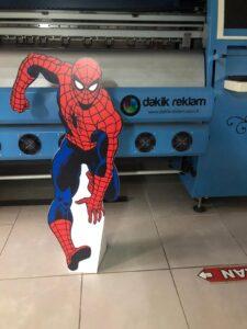 Spiderman Cut Out Kesim