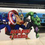 Marvel Fotoblok Pano Kesimi
