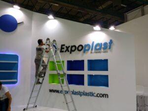 Expo Plast Plastic Strafor Logo