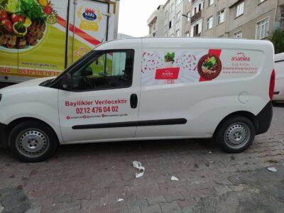 Doblo Maxi Reklam Kaplama