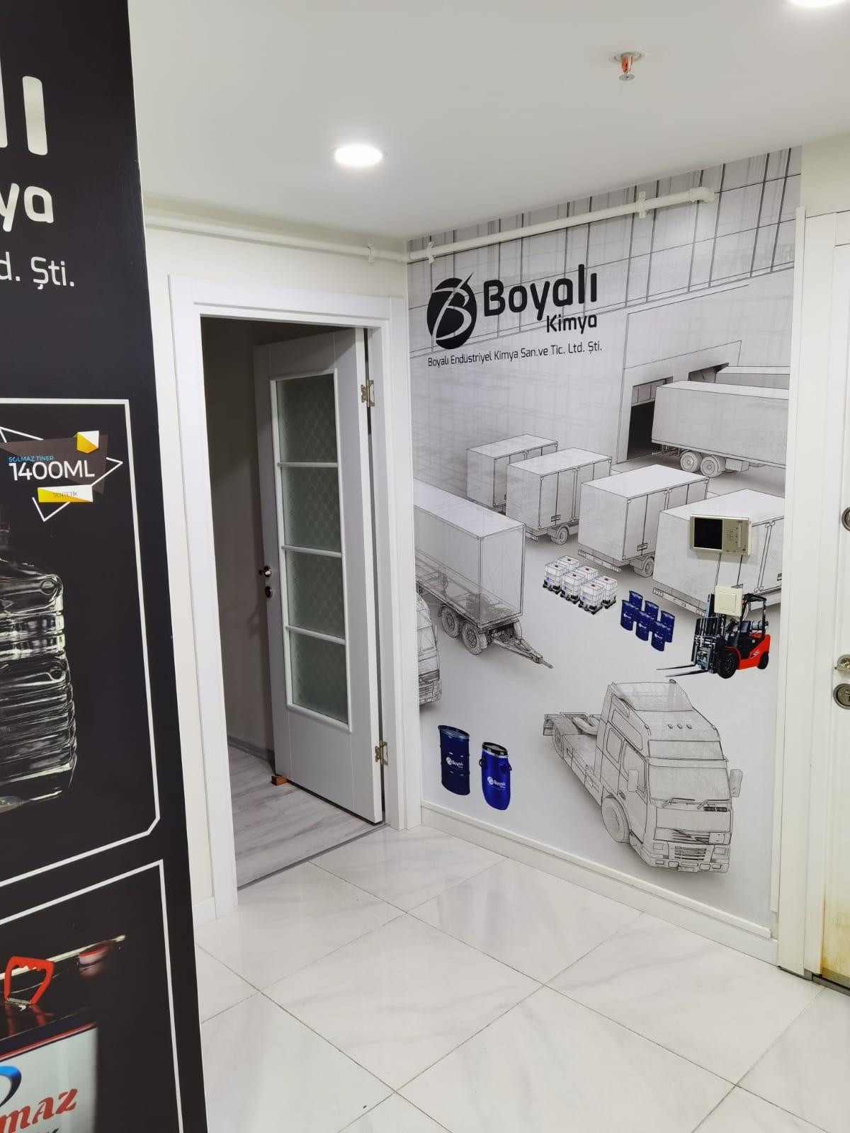 Duvar Reklam Kaplama Ofis
