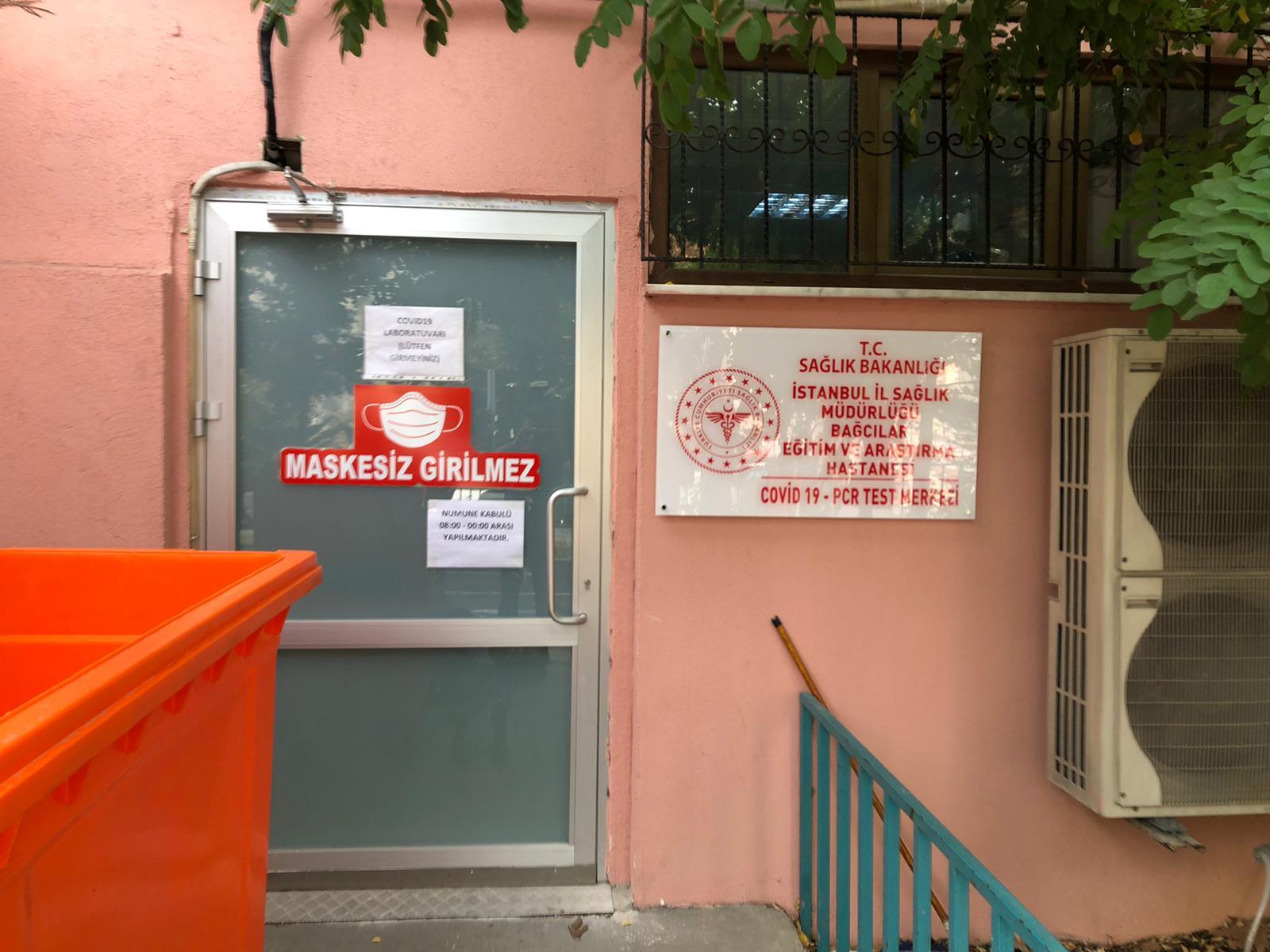 Kapı tabela hastane