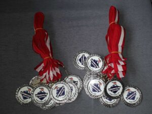 Gümüş Madalya Baskı