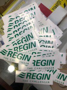 Regin logo kesim folyo