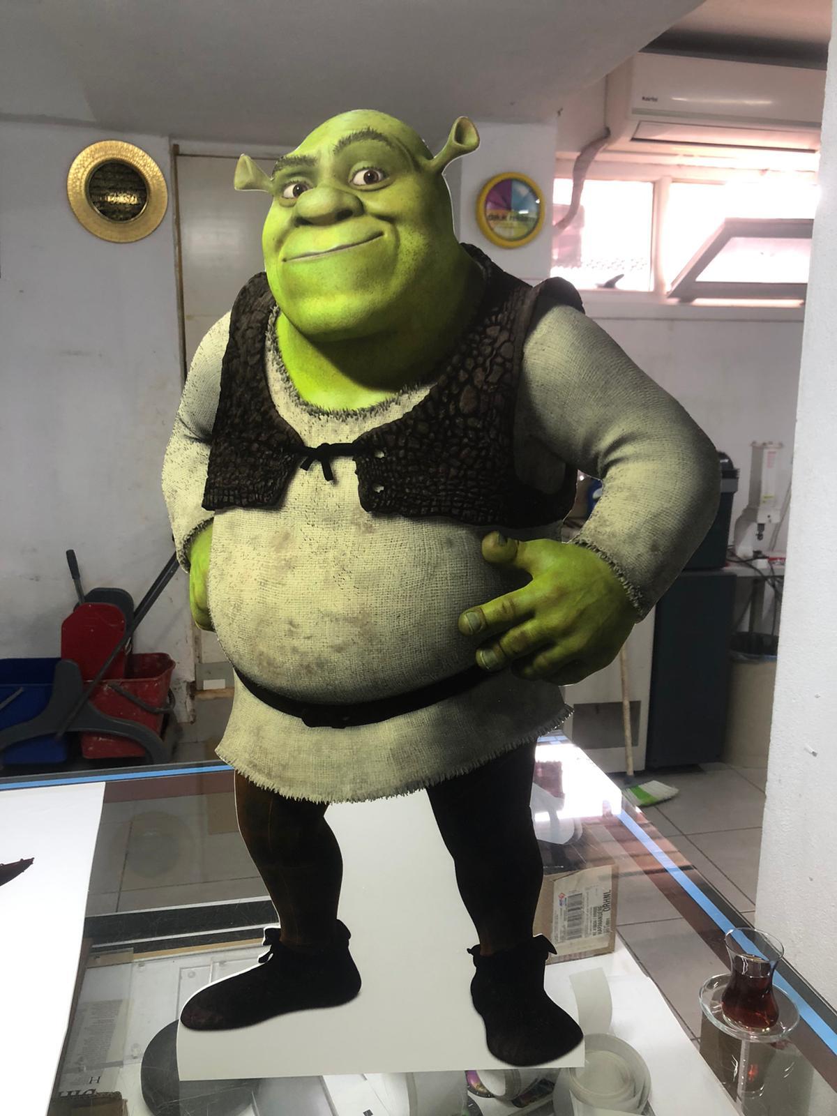 Shrek Maket Figür