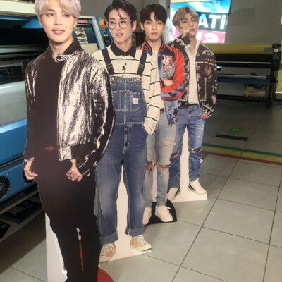 BTS Grup Üyeleri Maket