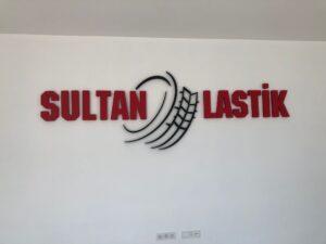 Sultan Lastik Strafor Harf Kesimi